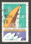 Stamps Australia -   578 - Edifico Tambaran, y la Ópera de Sydney