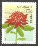Sellos de Oceania - Australia -  Flor
