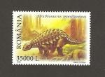 Sellos de Europa - Rumania -  Dinosaurios