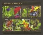 Sellos de Europa - Rumania -  Peces exóticos