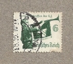 Stamps Germany -  Juventud hitleriana