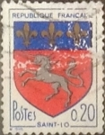 Stamps France -  Intercambio 0,20 usd 20 cents. 1966