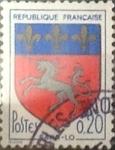 Sellos de Europa - Francia -  Intercambio 0,20 usd 20 cents. 1966