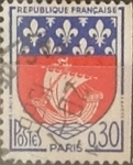 Stamps : Europe : France :  Intercambio 0,20 usd 30 cents. 1965
