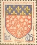 Stamps : Europe : France :  Intercambio 0,20 usd 5 cents. 1962