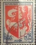 Stamps France -  Intercambio 0,20 usd 5 cents. 1966