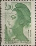Sellos del Mundo : Europa : Francia : 2 franco 1987