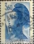 Sellos del Mundo : Europa : Francia : Intercambio jn 0,65 usd 3,60 franco 1987
