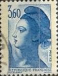 Sellos de Europa - Francia -  Intercambio 0,65 usd 3,60 franco 1987