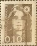 Sellos de Europa - Francia -  Intercambio 0,20 usd 10 cents. 1990