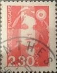 Sellos de Europa - Francia -  Intercambio 0,20 usd 2,30 francos 1990