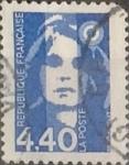 Sellos de Europa - Francia -  Intercambio 0,40 usd 4,40 francos 1993