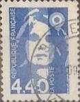Stamps France -  Intercambio 0,40 usd 4,40 francos 1993