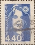 Sellos de Europa - Francia -  Intercambio jxn 0,40 usd 4,40 francos 1993