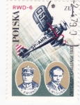 Stamps Poland -  heroes del aire