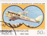 Stamps Mozambique -  historia de la aviación de Mozambique