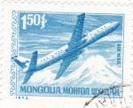 Stamps Mongolia -  avión