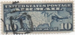 Stamps United States -  Y & T Nº 7 Aereo