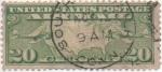 Sellos de America - Estados Unidos -  Y & T Nº 9 Aereo