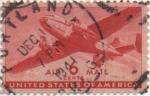 Sellos de America - Estados Unidos -  Y & T Nº 26 Aereo