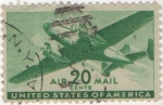 Stamps United States -  Y & T Nº 30 Aereo