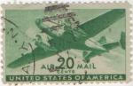 Sellos de America - Estados Unidos -  Y & T Nº 30 Aereo