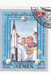 Sellos de Asia - Yemen -  aeronáutica
