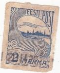 Stamps Estonia -  paisaje