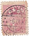 Sellos de Europa - Letonia -  escudo