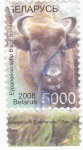 Sellos de Europa - Bielorrusia -  bisonte