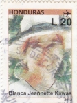 Stamps Honduras -  Blanca Jeannette Kawas