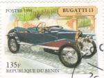 Sellos de Africa - Benin -  coche de epoca