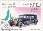 Stamps Laos -  coche de epoca