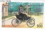 Sellos de Asia - Afganistán -  coche de epoca