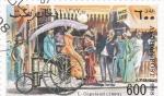 Stamps : Asia : Afghanistan :  coche de epoca