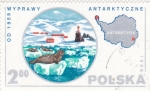 Stamps Poland -  continente de la Antartica