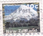 Sellos del Mundo : Oceania : Nueva_Zelanda :  monte Taranaki