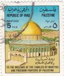 Sellos de Asia - Irak -  sinagoga