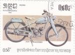 Sellos de Asia - Camboya -  motocicleta WANDERER