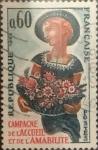 Sellos de Europa - Francia -  Intercambio jxn 0,20 usd 60 cents. 1965