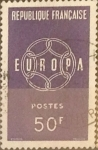 Stamps : Europe : France :  Intercambio jcxs 0,55 usd 50 francos 1959
