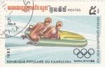 Sellos de Asia - Camboya -  juegos olímpicos invierno Sarajevo-84