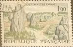 Stamps France -  Intercambio m1b 0,25 usd 1 franco 1965