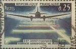 Sellos de Europa - Francia -  Intercambio jxn 0,20 usd 25 cents. 1964