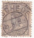 Sellos de Europa - Holanda -  reina