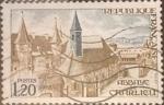 Sellos de Europa - Francia -  Intercambio 0,20 usd 1,20 francos 1972