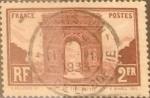 Sellos de Europa - Francia -  Intercambio 1,00 usd 2 francos 1931