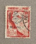 Stamps America - Peru -  Red de Carreteras
