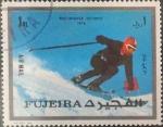 Stamps : Asia : United_Arab_Emirates :  Intercambio pxg 0,20 usd 1 rl. 1976