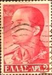Sellos de Europa - Grecia -  Intercambio 0,20 usd 2 d. 1957